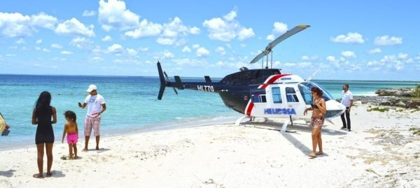 Helicopter Tour punta cana air packagess